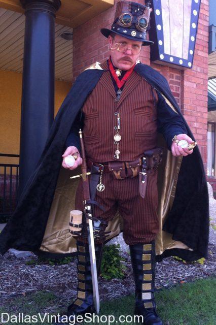 Steampunk Magician Costume
