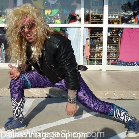 David Lee Roth Costume, Van Halen Costume, Rockstar Costume, glam rock costume