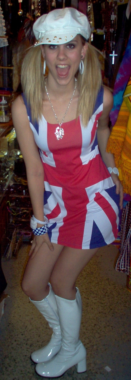 Pop Star Spice Girl outfit. Baby Spice