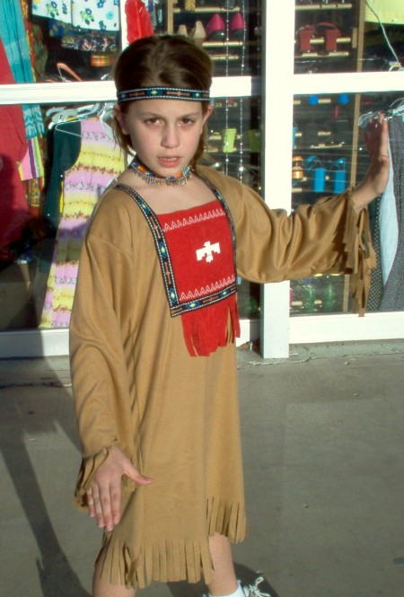 Children's American Indian outfits