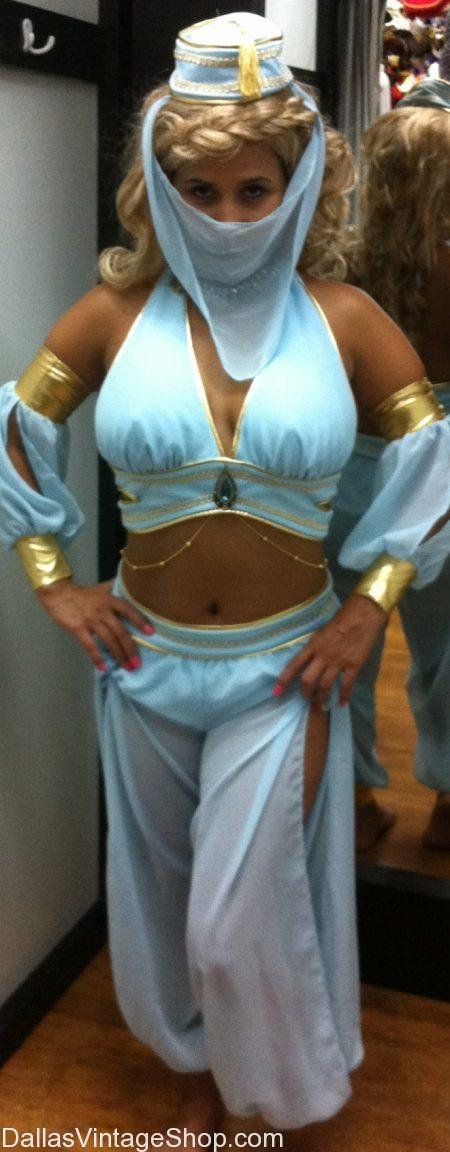 Dallas Belly Dancer Costumes, Dallas Harem Pants and Costumes, Jasmine Aladdin Costume DFW