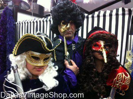 men's masquerade masks dallas