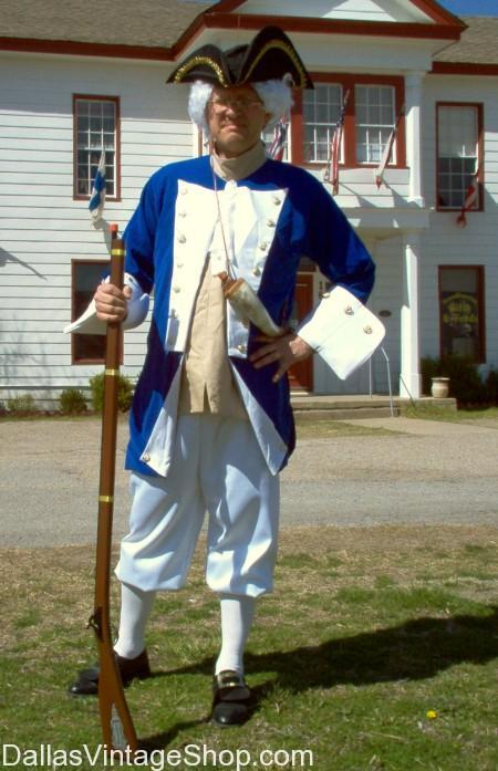 Dallas Colonial Man Costumes
