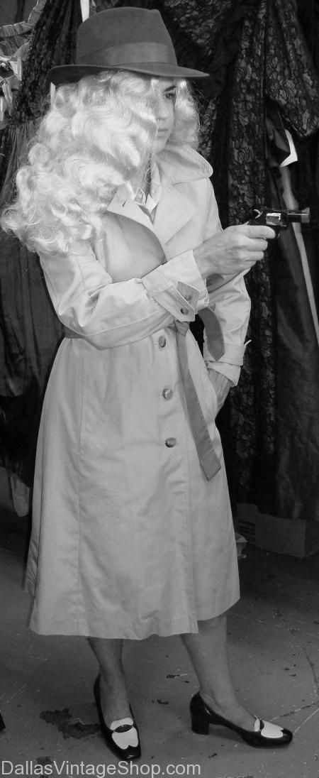 Film Noir Detective Lady, Detective, Detective Dallas, Detective Costume, Detective Costume Dallas, Womens Detective, Womens Detective Dallas, Womens Detective Costume, Womens Detective Costume Dallas, Womens Detective Trench Coat, Womens Detective Trench Coat Dallas,