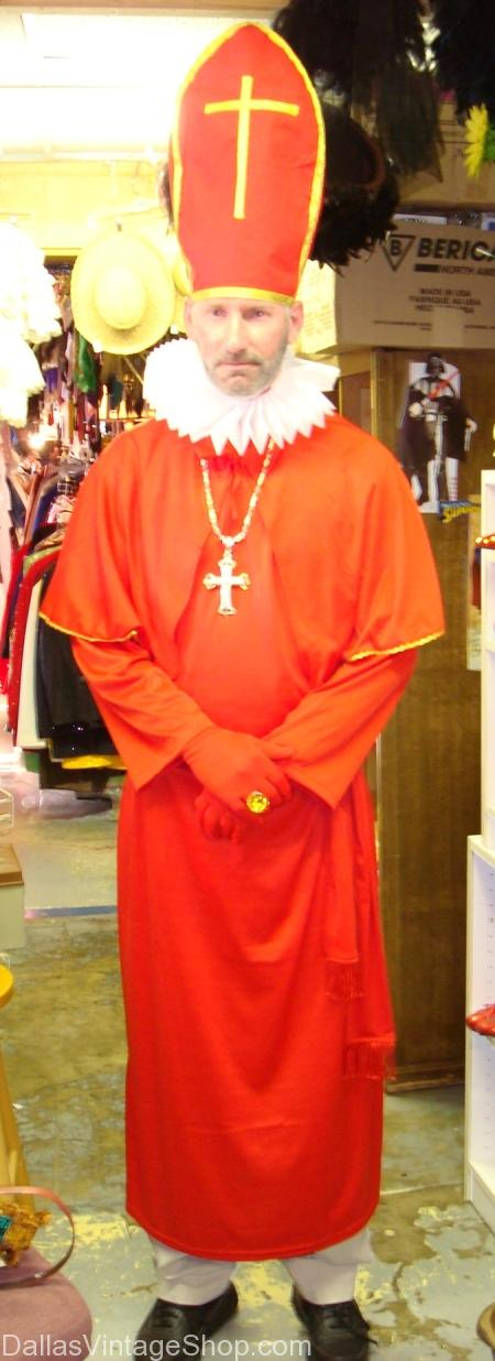 Cardinal, Clerical, Clerical Dallas, Clerical Costume, Clerical Costume Dallas, Clerical Robe, Clerical Robe Dallas, Clerical Headpeice, Clerical Headpiece Dallas, Rabbi Costume, Rabbie Costume Dallas, Rabbi Robe, Rabbi Robe Dallas, Priest Costume, Priest Costume Dallas, Priest Robe, Priest Robe Dallas,