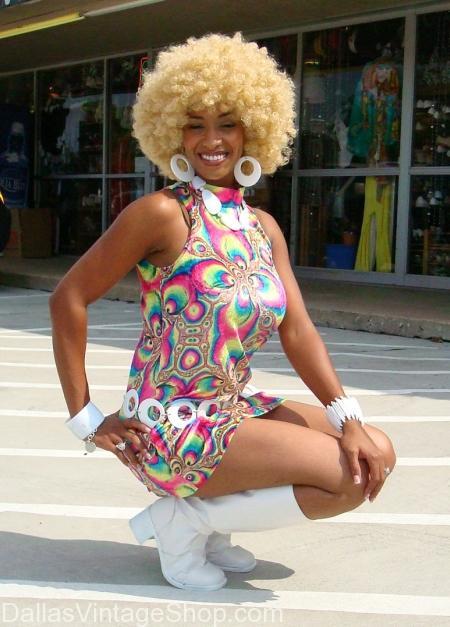 1970's Disco Chick Dallas area, 1970's Mini Skirt Dress, 70s Disco Queen, 70s Ladies Attire, Disco Chick White Go Go Boots, Disco Chick Blond Afros, 70s Psychedelic Disco Mini Dress, 1970's Mini Skirt Dress Dallas, 70s Disco Queen Dallas, 70s Ladies Attire Dallas, Disco Chick White Go Go Boots Dallas, Disco Chick Blond Afros Dallas, 70s Psychedelic Disco Mini Dress Dalla