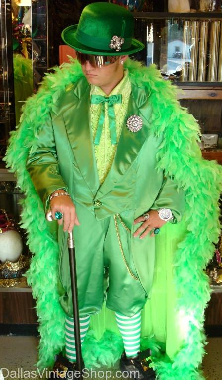 Irish Hip Hop Leprechaun, just one mens costume idea for St. Patrick's Day Parties Dallas.