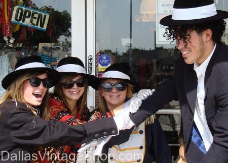 Michael Jackson Fans Costumes, Hats and Sunglasses