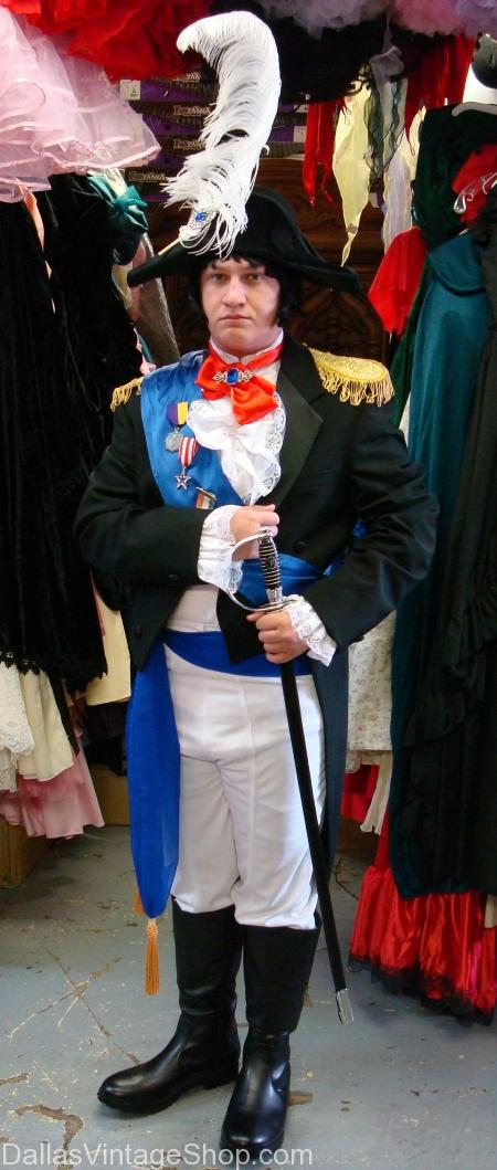 French Napoleon Bonaparte Costume, Napolean, Napolean Dallas, Napolean Costume, Napolean Costume Dallas, Napolean Outfit, Napolean Outfit Dallas, Napolean French Costume, Napolean French Costume Dallas, French Officer Costume, French Officer Costume, French Officer Costume Dallas, French Military Officer, French Military Officer Dallas,