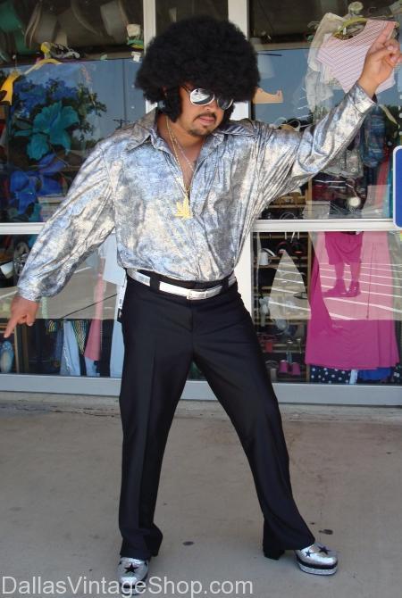 Men's Disco Plus Size Costume