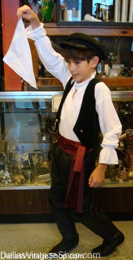 Greek Boy Historical Costume, Childrens Costumes, Childrens Historical costumes