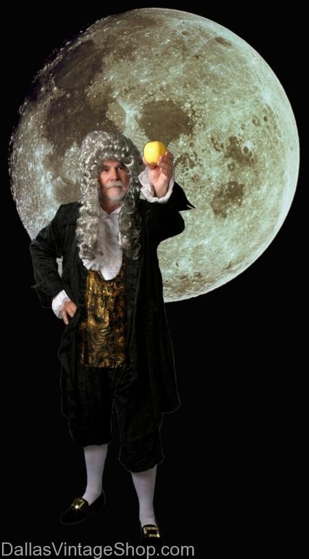 Sir Isaac Newton Costume