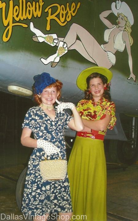 1940s Vintage Dresses