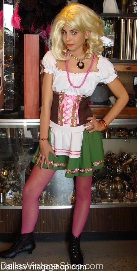 Oktoberfest Diva Costume, Octoberfest Maiden Costume, Oktoberfest Sexy Bar Maid Costume