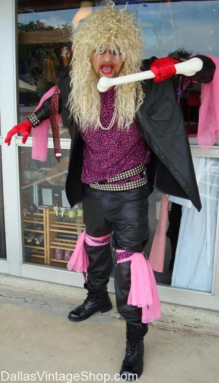 80s Dee Snider Costume 80s Twisted Sister Costume Heavy Metal 80s Costume Heavy Metal Band Clothing Hard Rock Band Attire Heavy Metal Band Clothing Shops 80s Band Attire Dallas Vintage Clothing