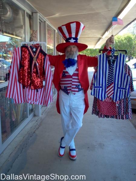 Memorial Day Dallas 2012 Uncle Sam Costume