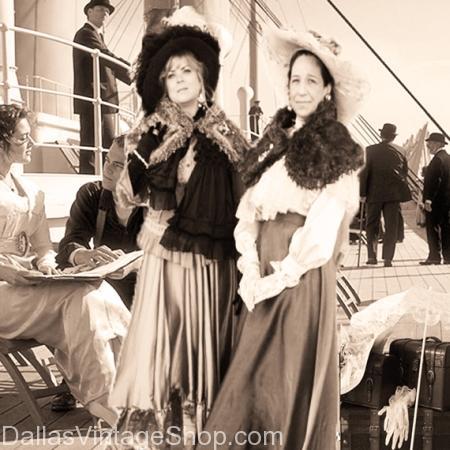 titanic the movie ladies victorian costumes